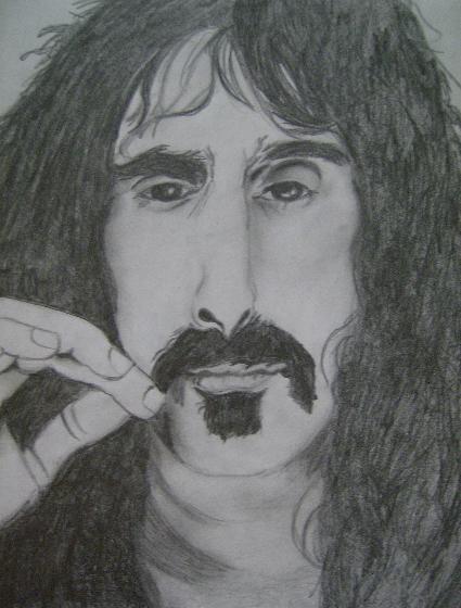 Frank Zappa by Hunya
